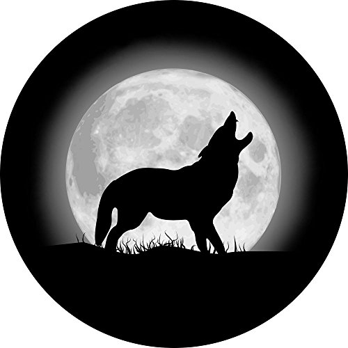 wolf jeep wheel cover - 4