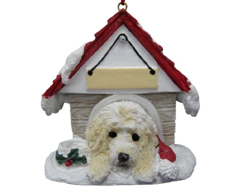 - Labradoodle Ornament A Great Gift For Labradoodle Owners Hand Painted and Easily Personalized