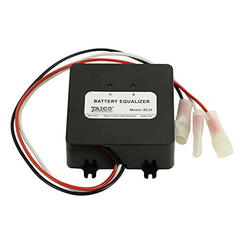 PowMr Battery Equalizer Voltage Balancer - for 24V 36V 48V Lead-Acid AGM Gel Flood Battery Battery Extend Battery Life 1 Year and More HA01 (Difference Between 36v And 48v Golf Cart)