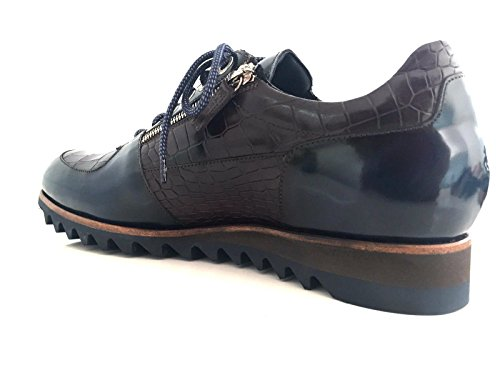 Harris, Mannen Lace Up Brogues Bruin Blu