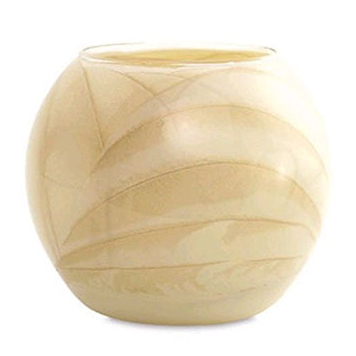 Northern Lights Candles Esque Ivory 4 Inch Polished Globe