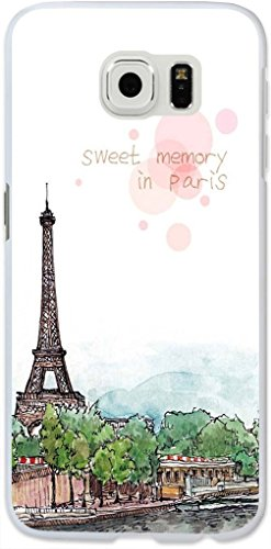 Galaxy S6 Edge Case,Dseason Samsung Galaxy S6 Edge Hard Case **NEW** High Quality Unique Design Protective sweet memory in paris