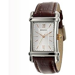 Romanson Men's TL0338MM1JAS6R Romanson Analog Display Analog Quartz Brown Watch