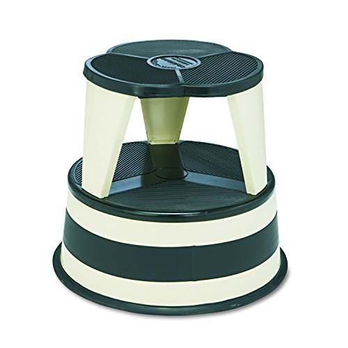 Library Step Stool - Cramer 1001-19 Kik Step Rolling Step Stool, Beige
