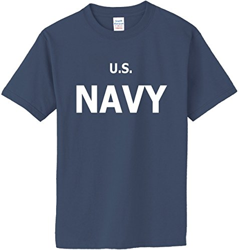 50 Adult S/s Tee - US Navy T-Shirt~Lake~Adult-2X