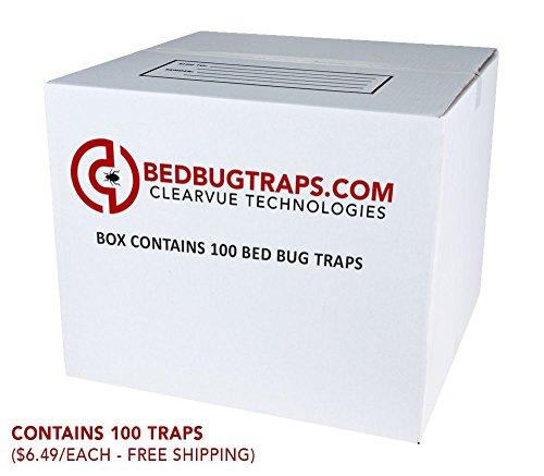 BedBugTraps.com CO2 Bed Bug Traps (100)