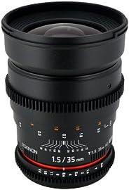 Rokinon Cine CV35-N 35mm T1.5 Aspherical Wide Angle Cine Lens
