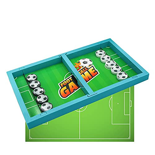 Toys for 4 5 6 7 8 9 Boys Girls Fast Sling Puck Game for Parent-Child Football Board Game Idea Gifts for 7-10 Year Old Boy Table Puck Toy by Elimiic