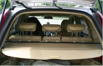 cargo trunk cover shield for honda crv 2007 2011 black. Black Bedroom Furniture Sets. Home Design Ideas
