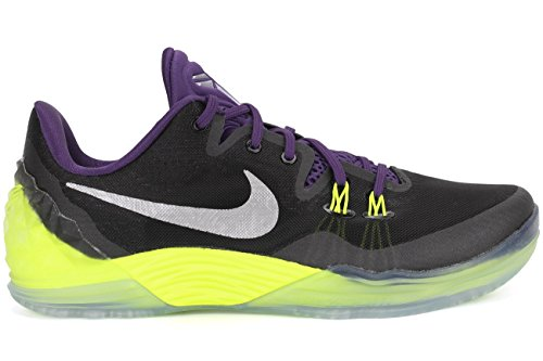 Black Porpora Scarpe Argento da Venomenon crt Uomo Prpl Nero Nike 5 Zoom Slvr Mtllc Verde vlt Kobe Basket Xq1vwC7B