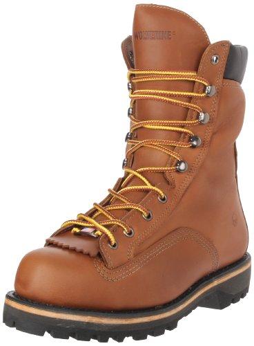 "Wolverine Men's Northman 8"" Work Boot,Brown,7 XW US"