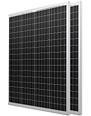 HQST 100W 200W 400W Solar Panels with High Efficiency Module PV Power for Battery Charging Boat, Caravan, RV and Any Other Off Grid Applications