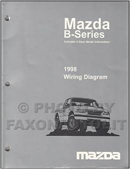 [ANLQ_8698]  1998 Mazda B4000 B3000 B2300 Pickup Truck Wiring Diagram Manual Original 2  and 4 door: Mazda: Amazon.com: Books | Mazda Truck Wiring Diagrams |  | Amazon.com