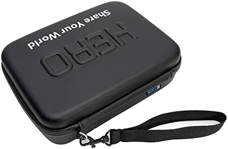 Ychaoya Shockproof Waterproof Portable Travel Case for GoPro New Hero //HERO6//5//4 Session //4//3 //3//2 //1 Size 22cm x 16cm x 7cm Puluz U6000 and Other Sport Cameras Accessories
