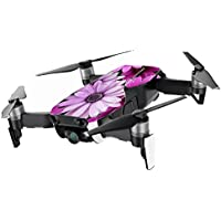 MightySkins Skin for DJI Mavic Air Drone - Purple Flowers   Min Coverage Protective, Durable, and Unique Vinyl Decal wrap cover   Easy To Apply, Remove, and Change Styles   Made in the USA