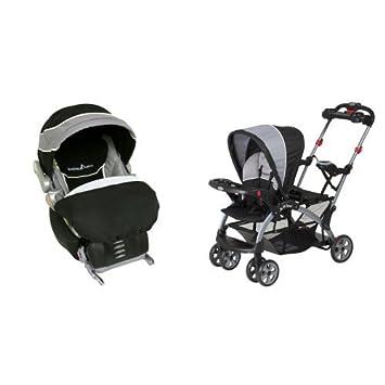 Amazon.com : Baby Trend Flex Loc Infant Car Seat, Phantom with Sit