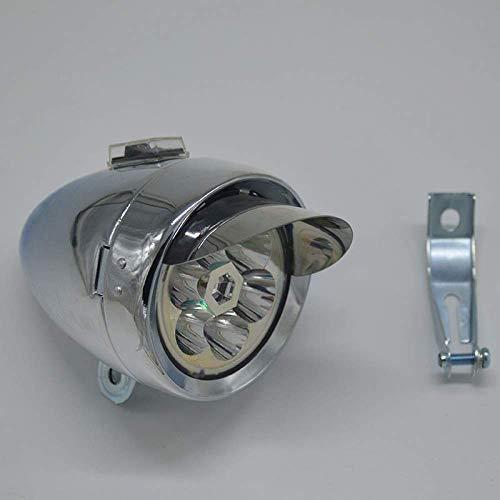 6 LED Carcasa De Metal Súper Ligero Estilo Antiguo Clásico Vintage ...