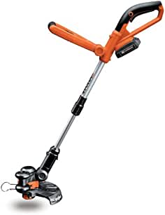 Worx WG155 20V MAX Cordless Lithium 10-Inch String Trimmer/Edger, Battery and...