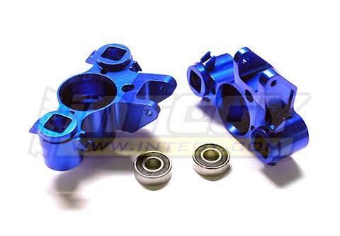 Integy RC Model Hop-ups T3118B Alloy Steering Blocks for 1/10 Revo, E-Revo, Summit, Slayer (10.75mm Pivot Ball)