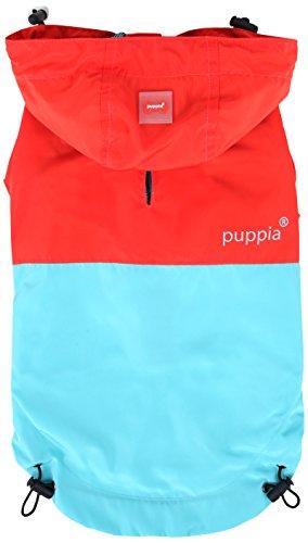 Puppia PAZ(RAINCOAT) - ORANGE RED - XL by Puppia