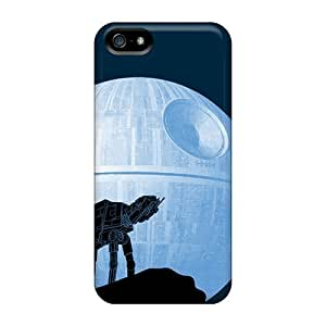 At At Death Star With Iphone ipod touch4 PC cell phone New Fashion Cases cover miao's Customization case