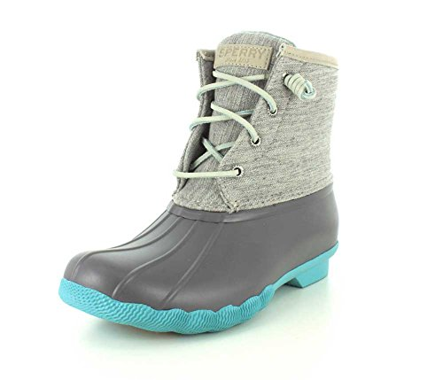 Sperry Top-Sider botas de lluvia de agua salada para las mujeres gris