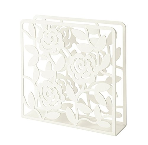 Ikea Steel Napkin Holder 802.099.01, White