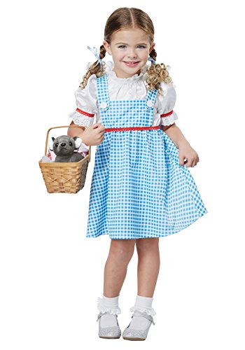 Dorothy Costume Halloween (Dorothy Of OZ - Toddler Size Large (4-6))