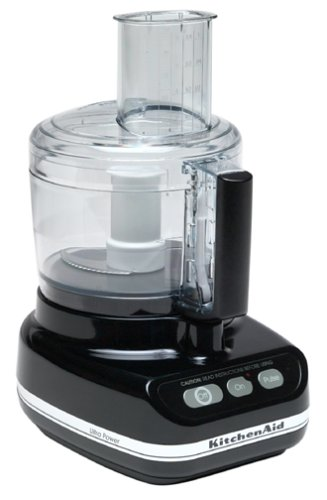 KitchenAid KFP600 11 Cup Ultra Power Food Processor, Onyx Black
