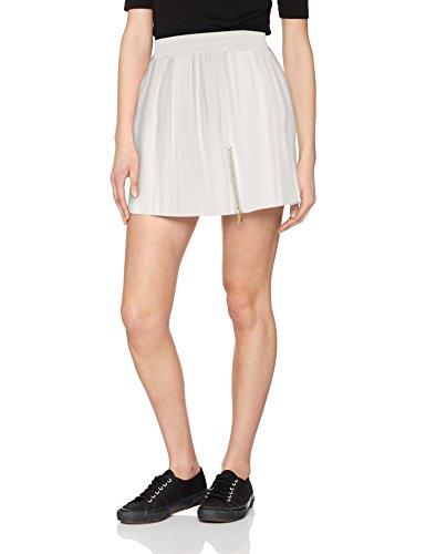 Femme Stone Ecru Harrington Jupe Miniskirt PwEqgExnpH