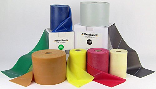 Thera-Band Resistive Exerciser 50 yard roll, Blue, 50 yards by TheraBand by TheraBand