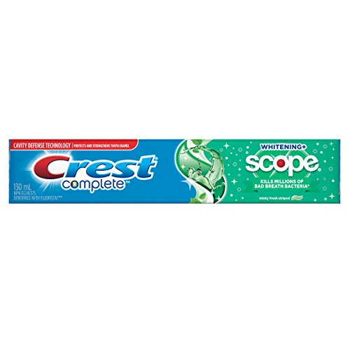 Crest Complete Whitening + Scope Toothpaste, Minty Fresh Striped - 130 ml