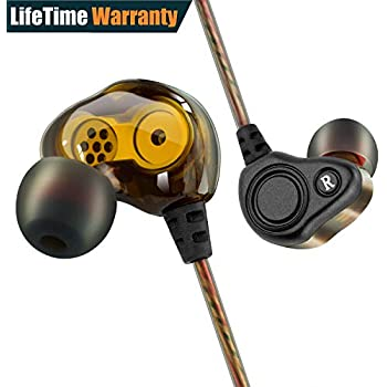 Amazon.com: Stereo In-ear Earbuds with Dual Dynamic