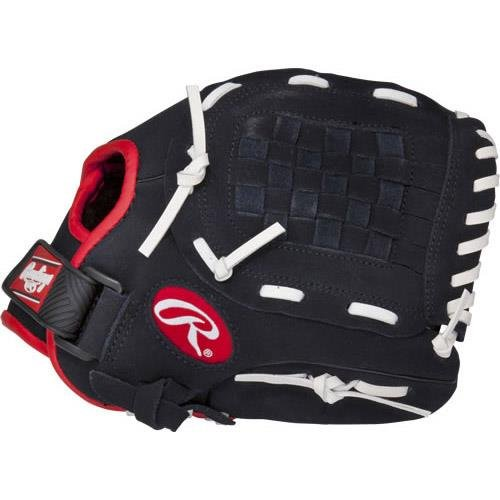 (Rawlings Junior Pro Lite Series Baseball Glove, Regular, Basket-Web, 10-1/2)