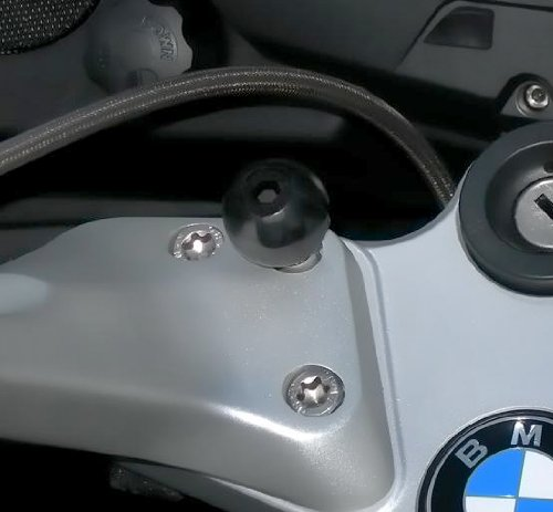Ram Motorcycle Clamp Base with Screws