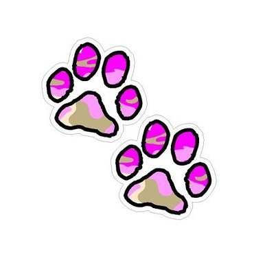 Paw-Prints-Pink-Camouflage-Window-Bumper-Laptop-Sticker