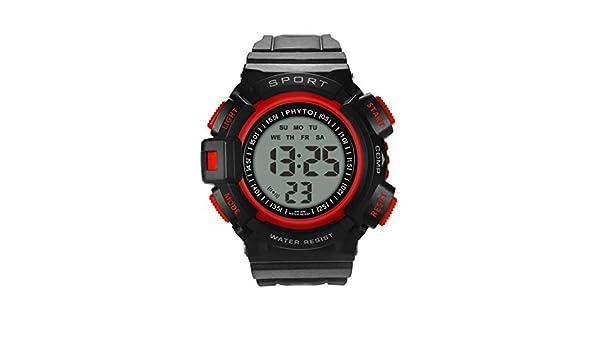 Reloj electronico,Moda de Gama Alta de múltiples Funciones 30M ...