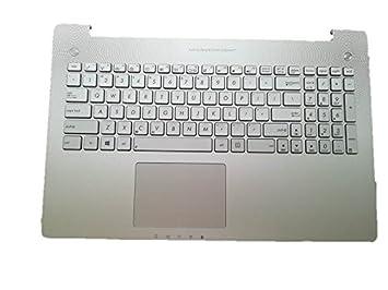 Apoyo para la palma de la mano con nosotros teclado para ordenador portátil ASUS N550 N550J N550JA N550JK N550JV N550JX N550LF plata: Amazon.es: Oficina y ...
