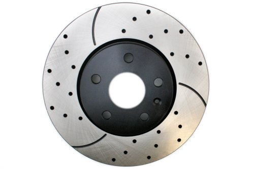 Prime Choice Auto Parts PR65176L Performance Drilled And Slotted Brake Rotor