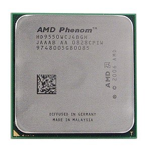 AMD Phenom X4 9550 2.2GHz 4x512KB Socket AM2+ Quad-Core CPU - CPU ONLY by AMD