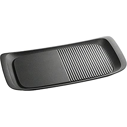 GroBartig AEG 9441893196 Maxisense Plancha Grill, Suitable For Induction Hobs:  Amazon.co.uk: Kitchen U0026 Home