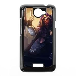 HTC One X Cell Phone Case Black League of Legends Renegade Talon TJ2733448
