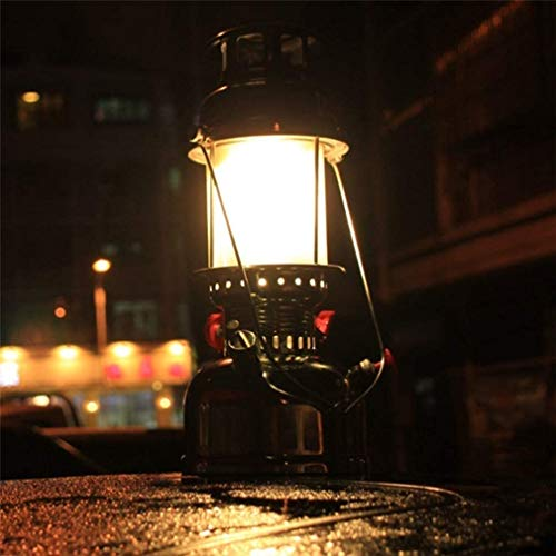 Wlnnes 500W Camping Light Outdoor Lighting Pressure Kerosene Oil Lantern Lighting Indoor Ornaments Steam Light Outdoor Kerosene Lamp in The Special Light Lamp Type Retro Nostalgic Heating Light