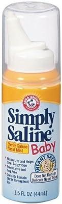 Simply Saline Sterile Saline Nasal Mist, Baby 1.5 fl oz (44 ml)