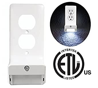 Snap-On LED Wall Plate Night Light - GuideLight Outlet ...