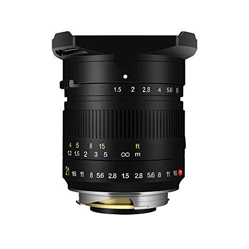 TTArtisan 21mm F1.5 Full Fame Lens for Leica M-Mount Cameras Like Leica M-M M240 M3 M6 M7 M8 M9 M9p M10