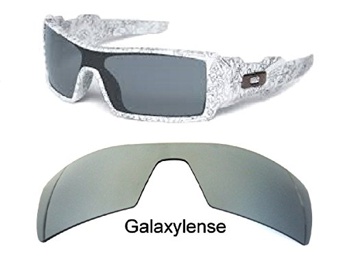 Galaxy Replacement Lenses For Oakley Oil Rig Sunglasses Titanium Polarized by Galaxylense