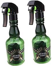 2 Piezas Botella de Agua Vacía de Spray Pulverizador de Niebla Fina Atomizador de Estilista Rociador de Gatillo