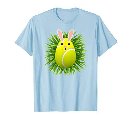(Kids Tennis Easter Egg T Shirt Grand Slam Racket Player)