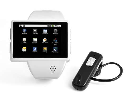 0c2e0263127f Amazon.com  2 Inch Capacitive Screen cool Android Smart Watch Phone ...